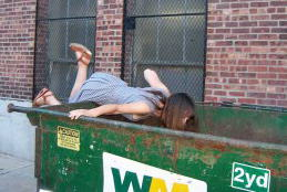 What I Learned (and Found) Dumpster Diving