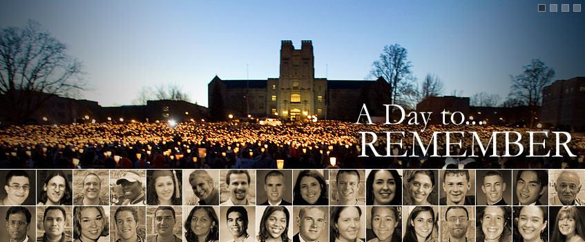 Virginia Tech: We Remember