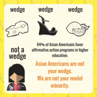 #NotYourWedge: Asian Americans and Affirmative Action